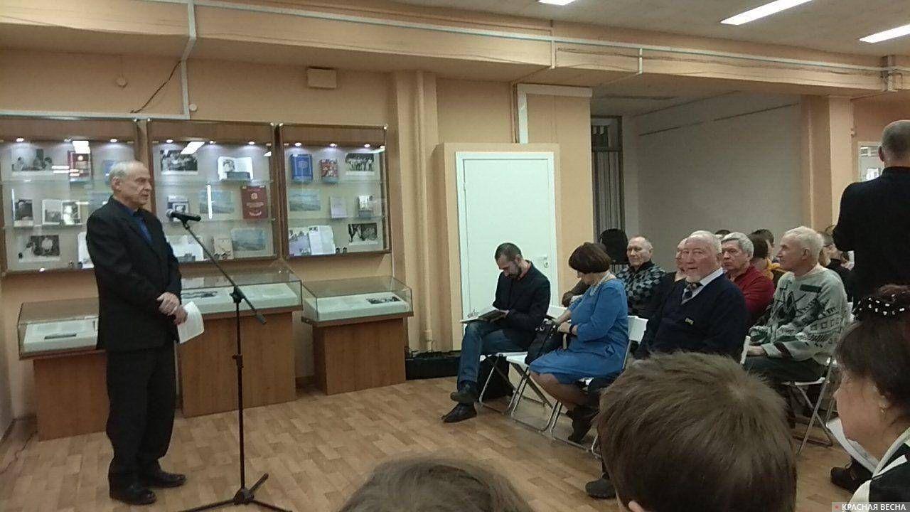 Открытие выставки Солженицына в Самарской областной библиотеке