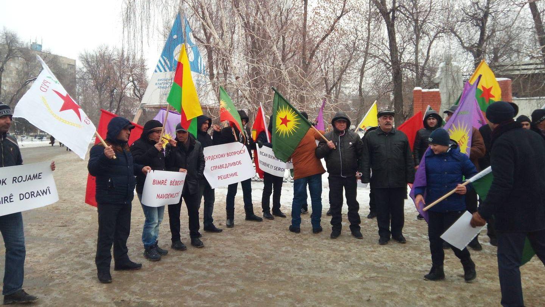 г. Саратов, митинг Местной национально-культурной автономии курдов.