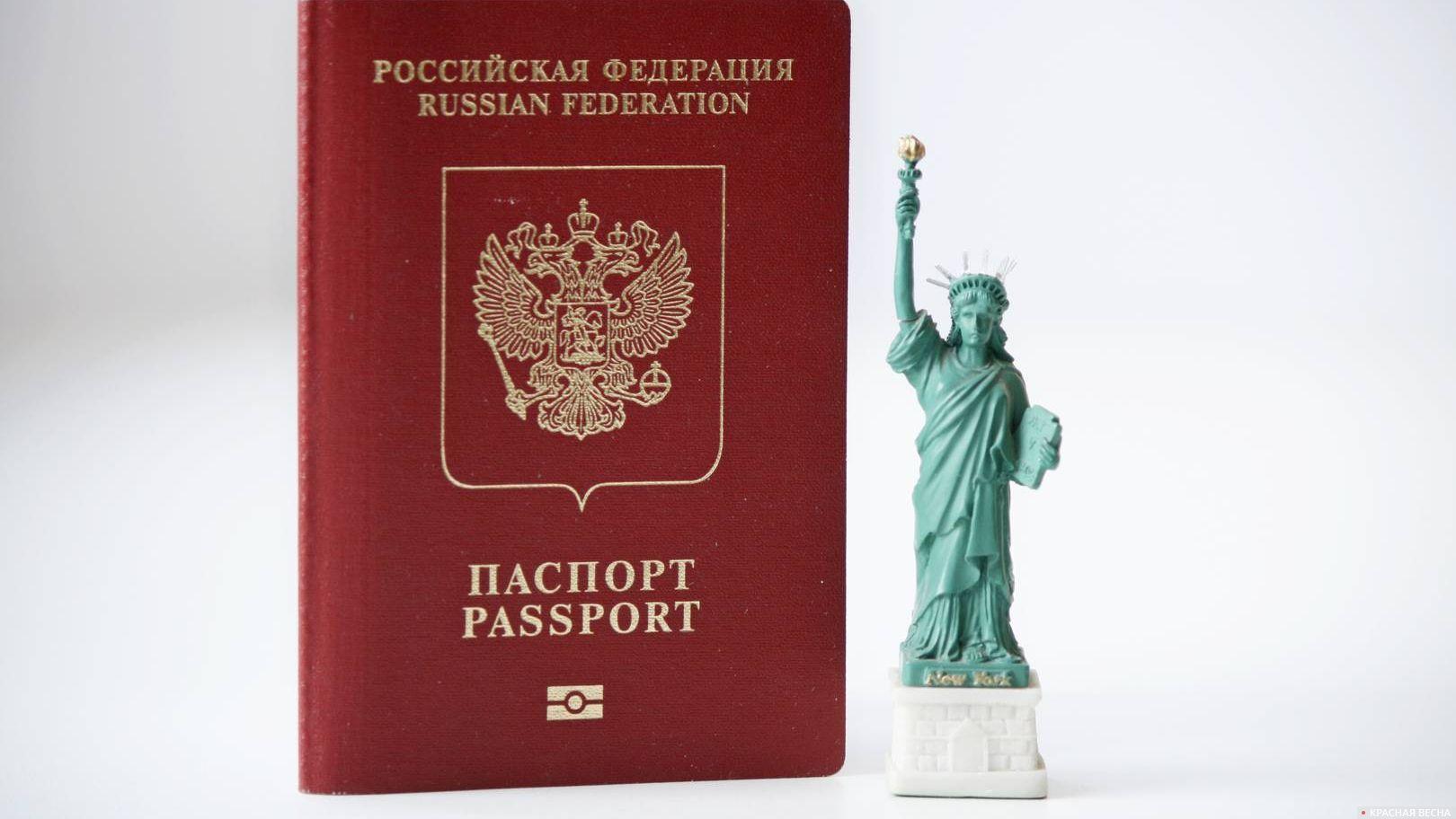 Выдача граждан России США