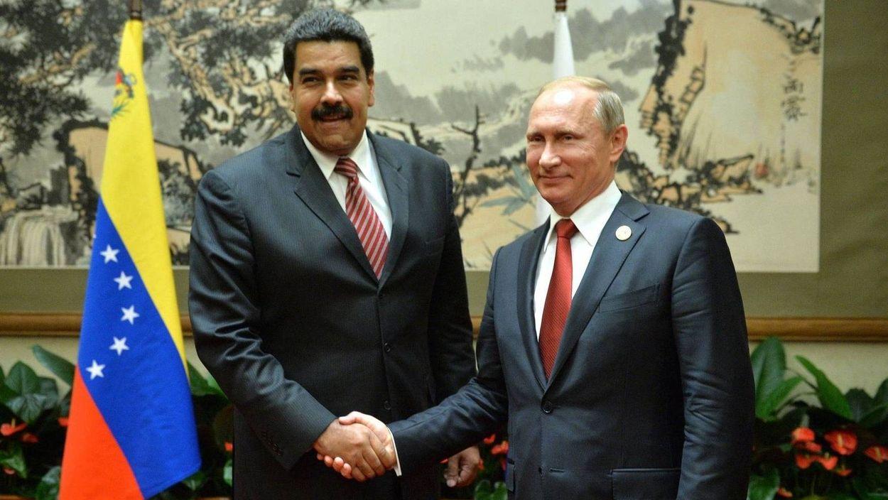 Николас Мадуро и Владимир Путин