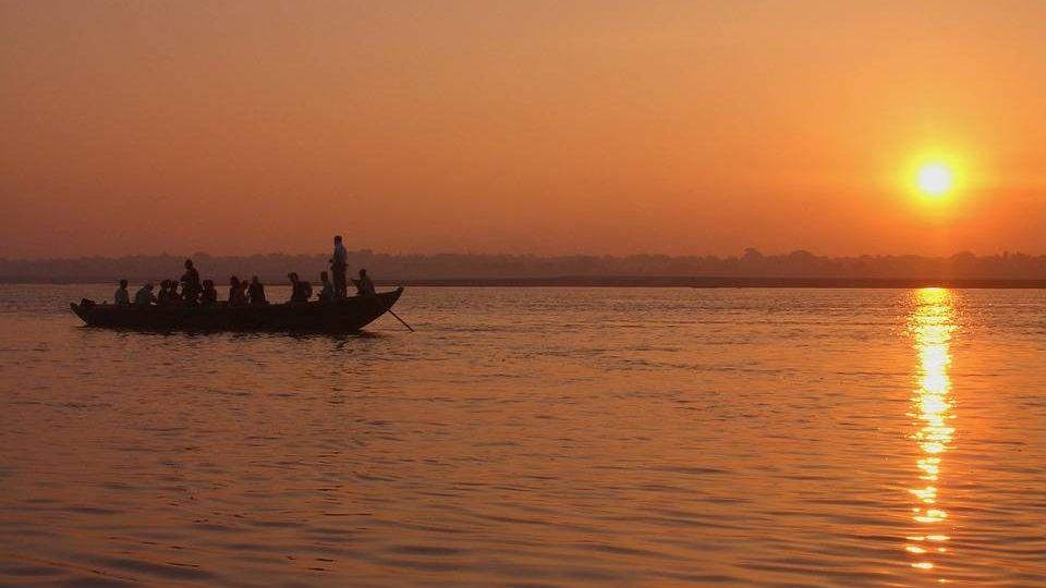 Река Ганг. Индия