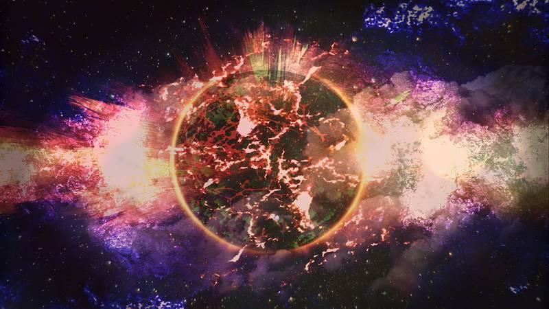 Планета в огне