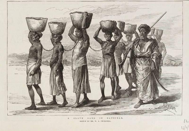 Рабы на Занзибаре