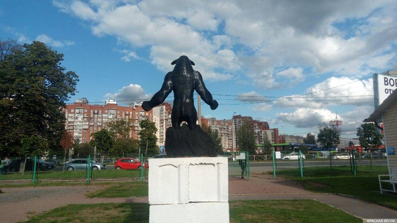 Идол в парке «Зима-Лето»