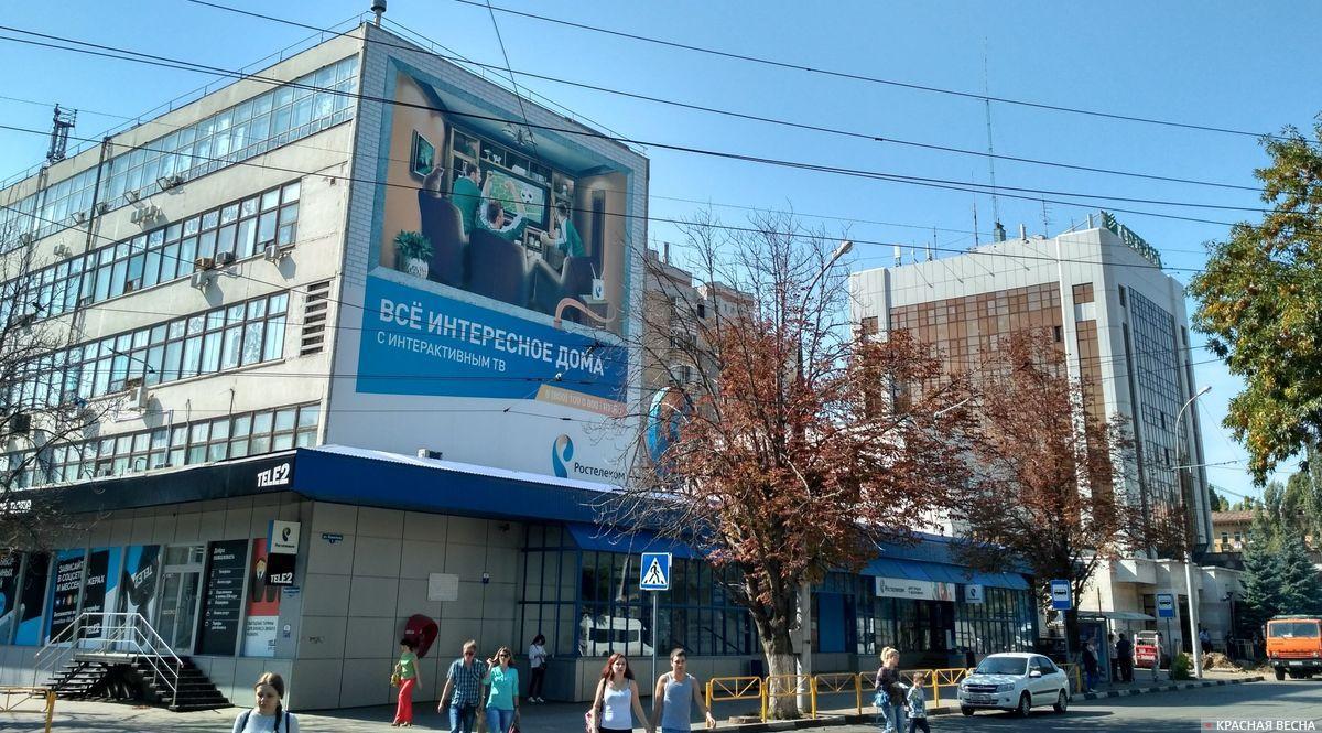 Саратов. Бывшая междугородная телефонная станция