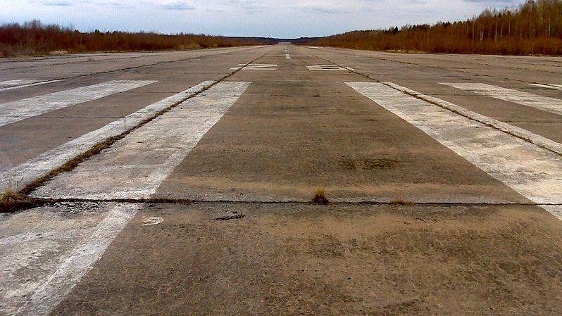 ВПП военного аэродрома