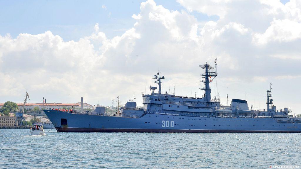 Военный корабль Черноморского флота