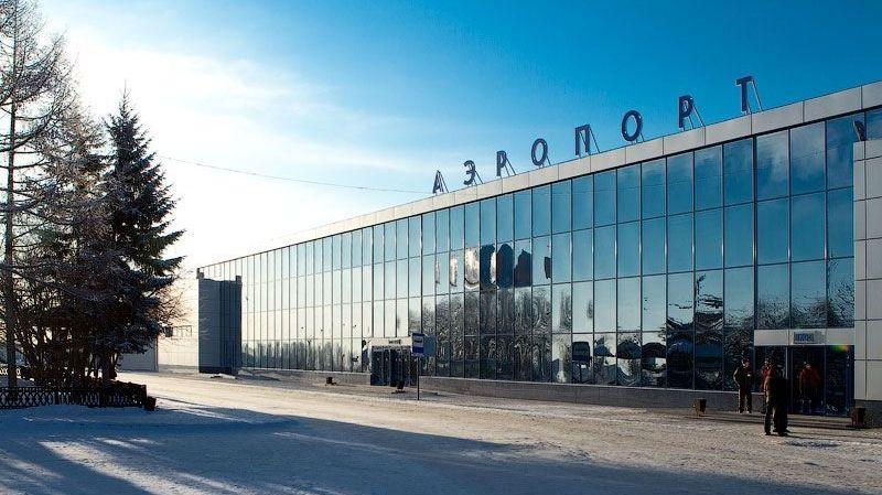 Здание аэропорта в Омске