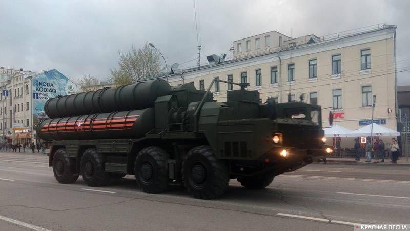 Пусковая установка ЗРК С-400