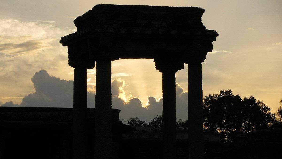 древняя архитектура в Индии