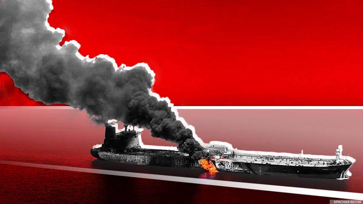 Взрыв на танкере в Находке