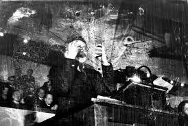 Лев Троцкий в Копенгагене. 1932