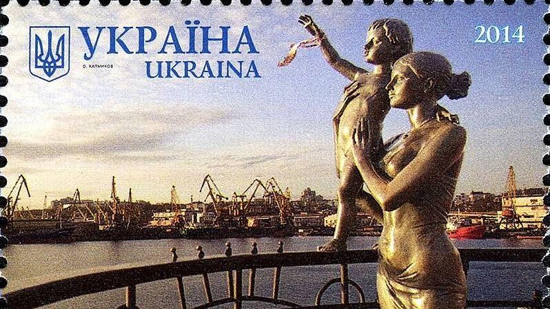 Памятник женам моряков в Одессе
