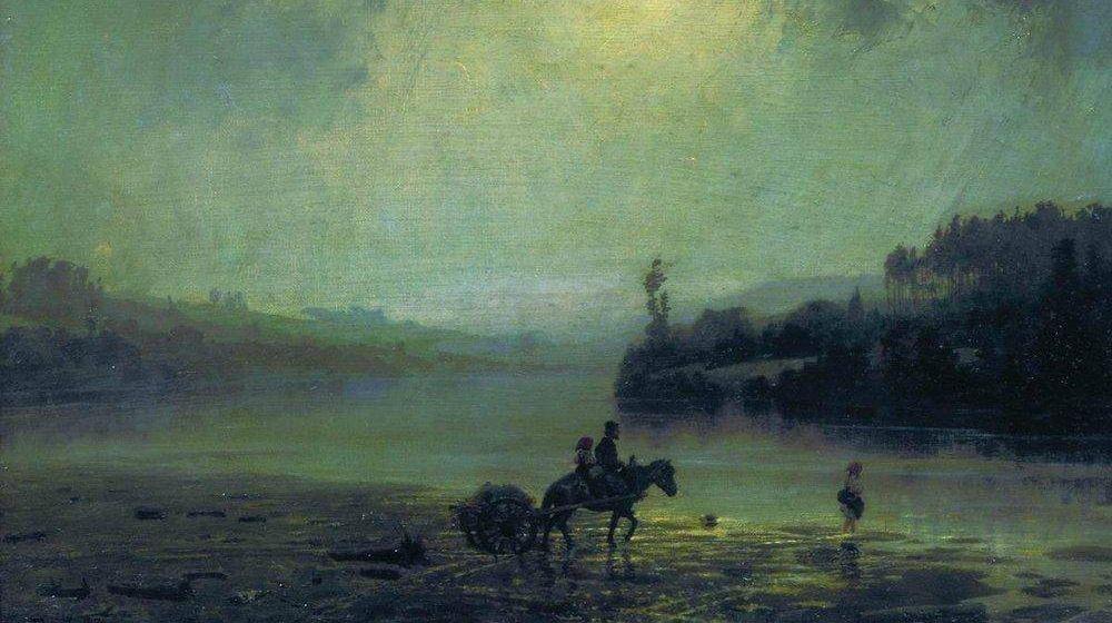 Василий Поленов. Ливень. 1874