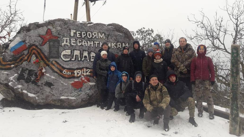 Памятник десанту в Судаке. 04.01.2019