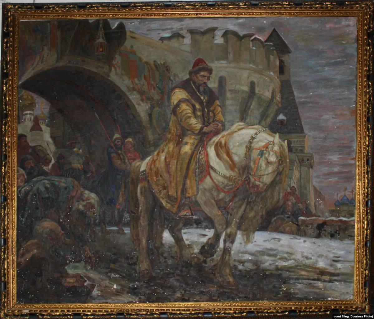 Михаил Панин. Тайный выезд Ивана Грозного перед опричниной. 1911 год
