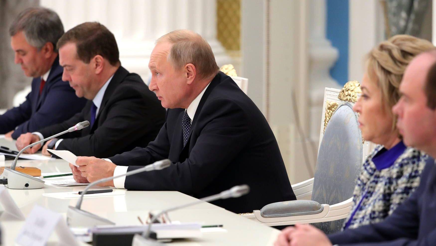 На заседании Совета при Президенте по стратегическому развитию и национальным проектам