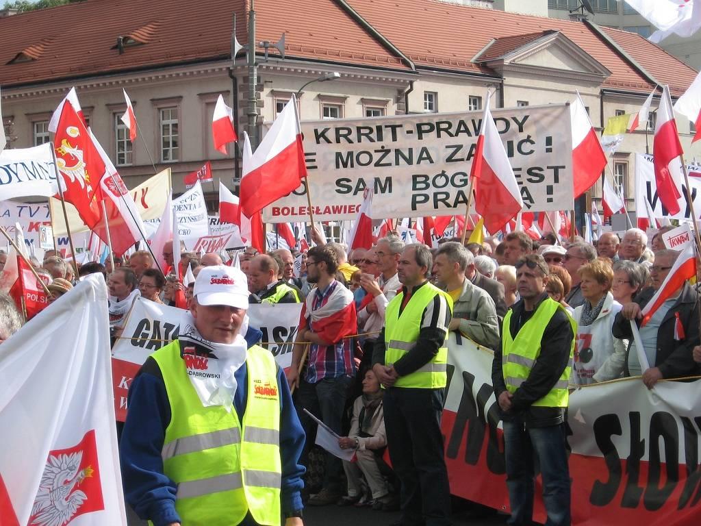 Демонстрация «Проснись, Польша». Сентябрь 2012 г.