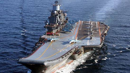 Авианесущий крейсер Северного флота