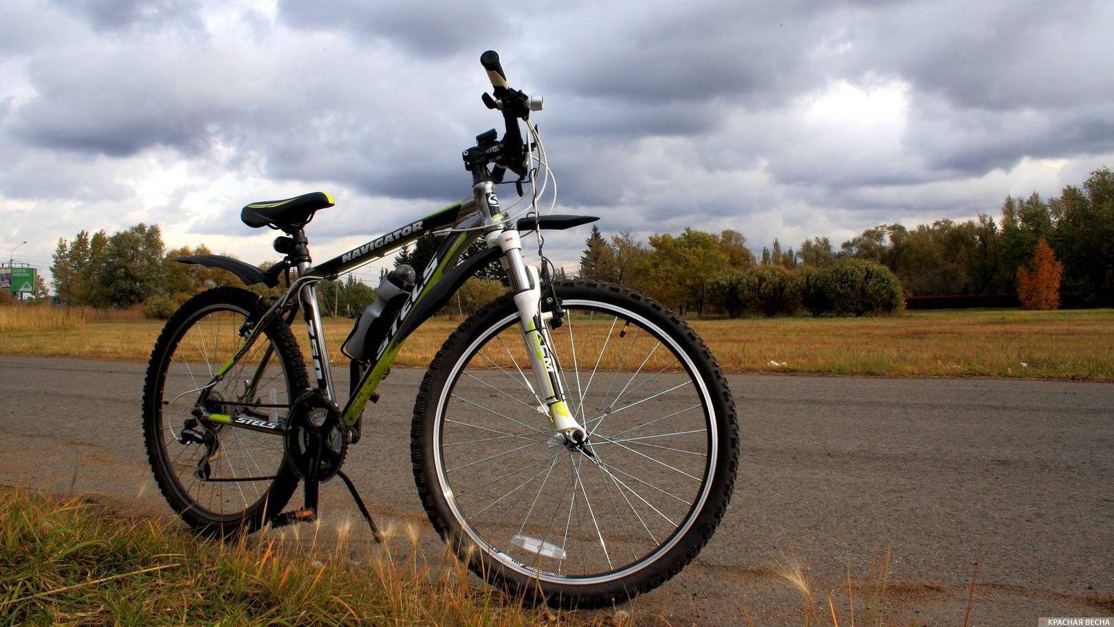 Велосипед подготовлен к старту