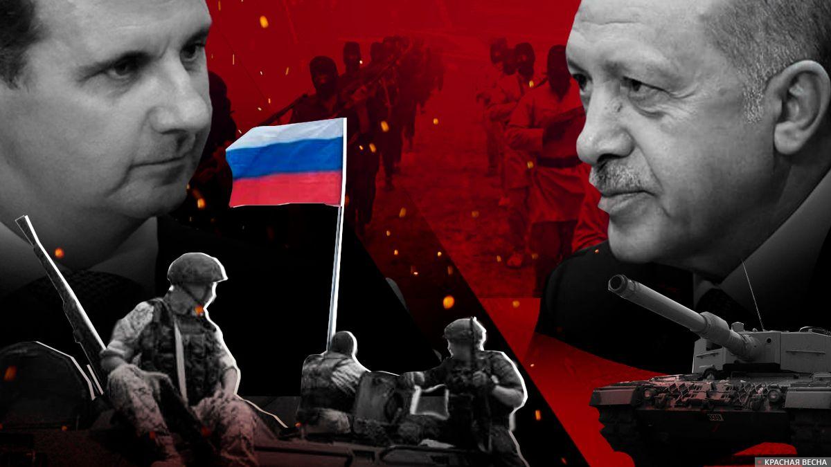 Русско-турецкая война? Путин, Эрдоган и боевые действия в Идлибе | ИА  Красная Весна