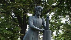 Памятник А.С. Пушкину в Долне, Молдавия