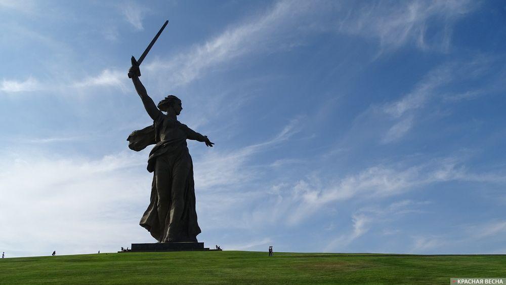 Монумент Родина-мать зовет. Мамаев курган