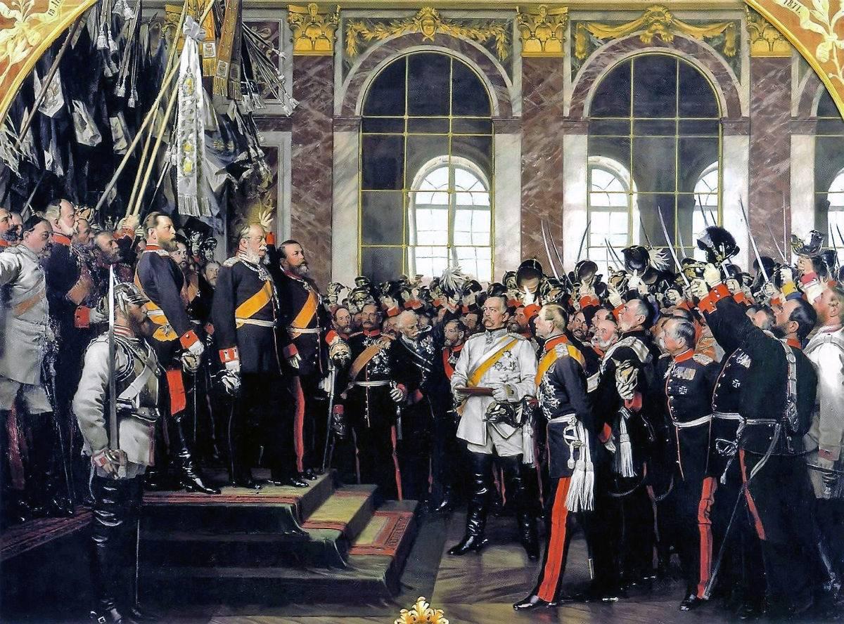 Провозглашение Германской империи в Версале