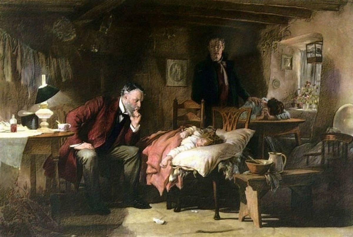 Сэмюэль Люк Филдес. Доктор. 1891