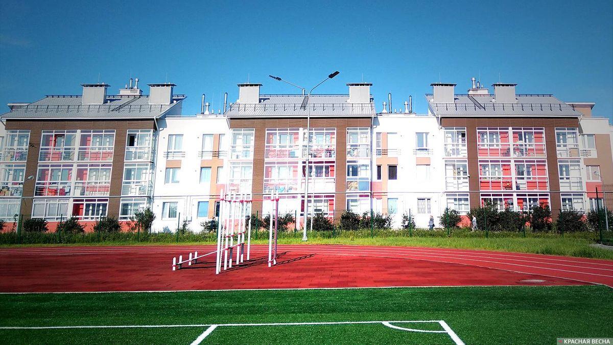 Открытие школы в микрорайоне Мичуринский. Екатеринбург, 1 сентября 2017 года