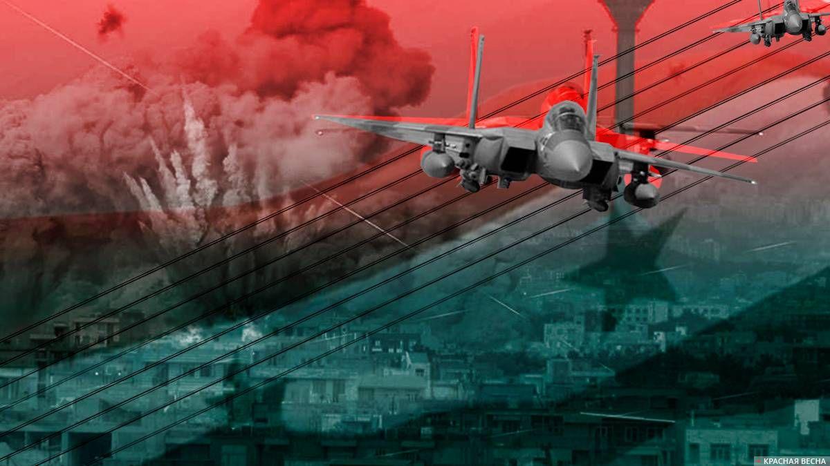 США пригрозили нанести удар поСирии, если не завершатся  бои под Дамаском