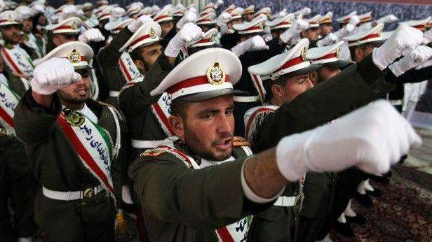 Военнослужащие Ирана
