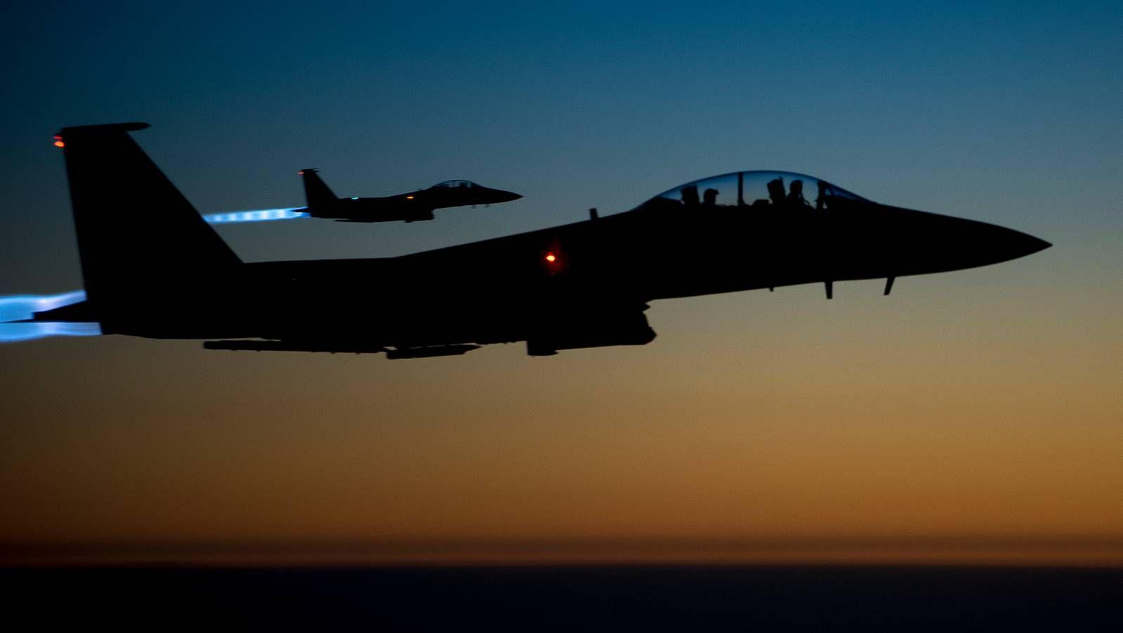 ВВС США над Сирией