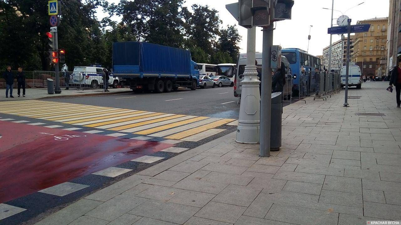 Запасной полк на Пушкинской