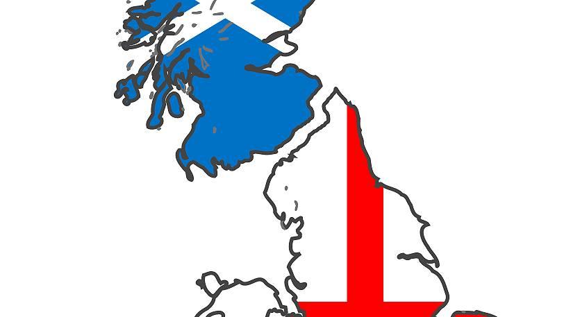Шотландия и Англия