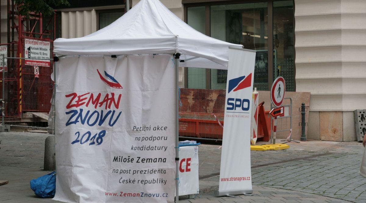 После первого тура лидирует Земан— Выборы президента Чехии