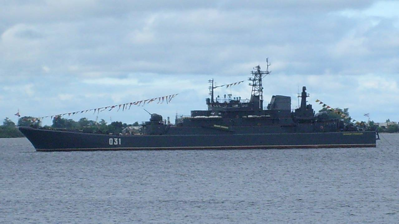 БДК-55 «Александр Отраковский», Северная Двина