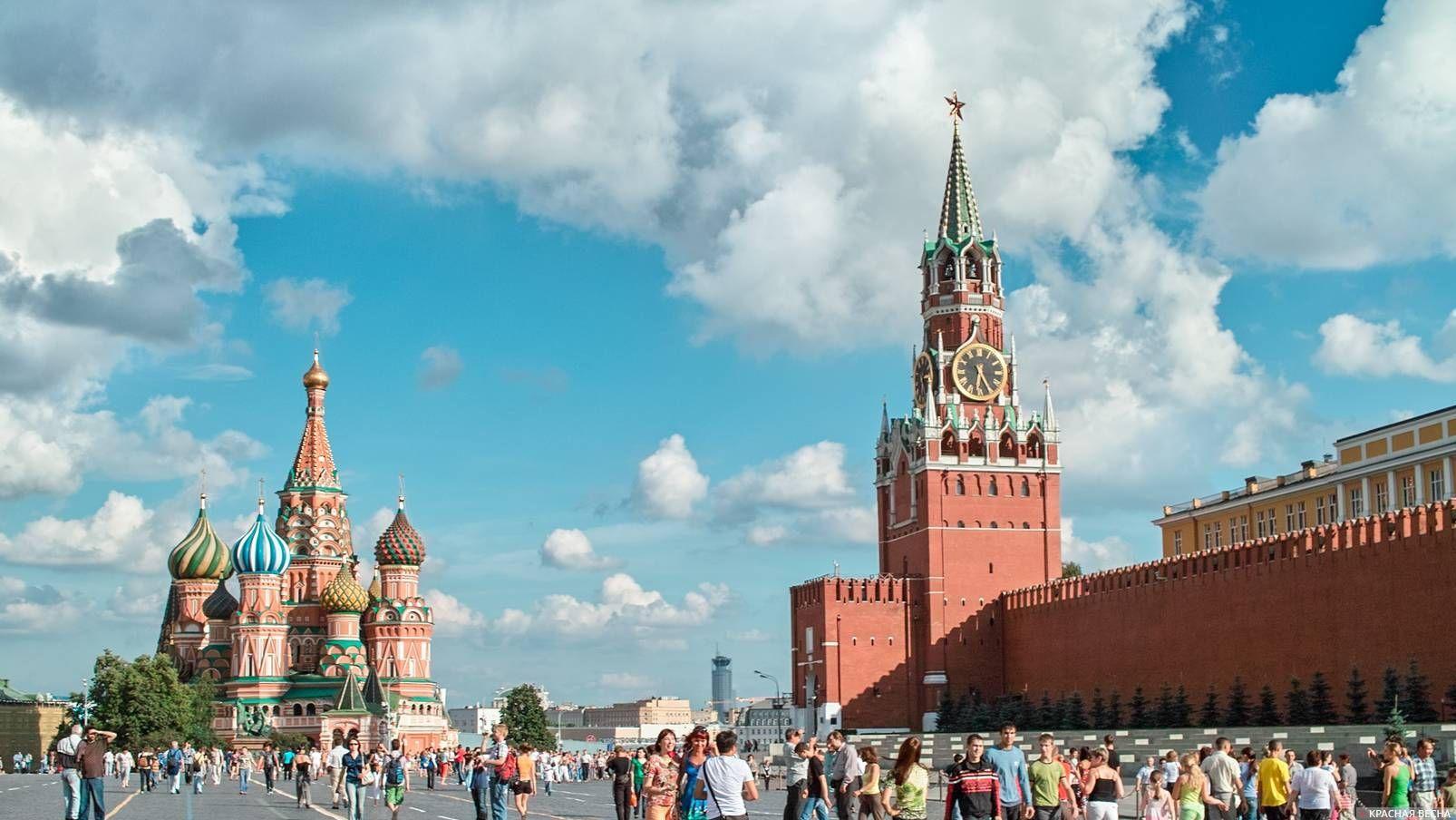 Кремль. Красная площадь. Москва