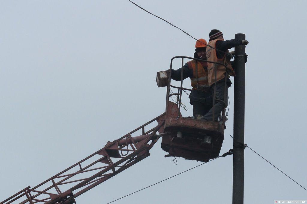 Нарушенное из-за непогоды энергоснабжение вПензенской области восстановлено