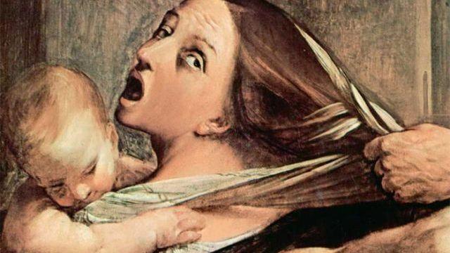 Гвидо Рени. Избиение младенцев (фрагмент). 1611-12г.