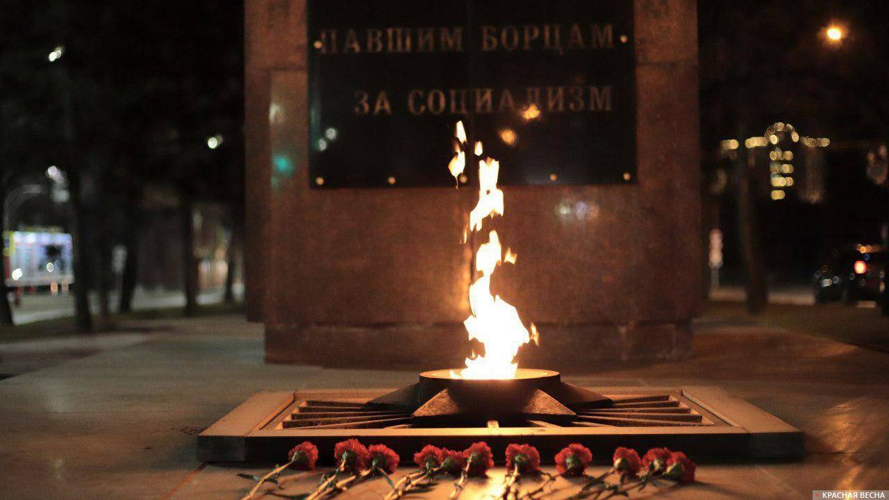 Мемориал «От борющихся павшим борцам за социализм» в Барнауле