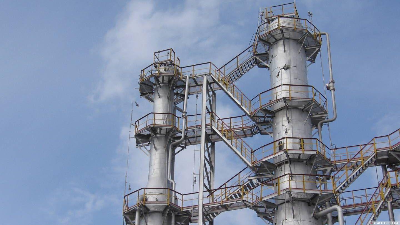 Газосеперационные колонны.