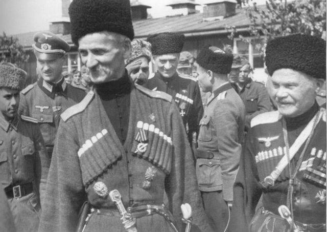 Пособник нацистов атаман Науменко