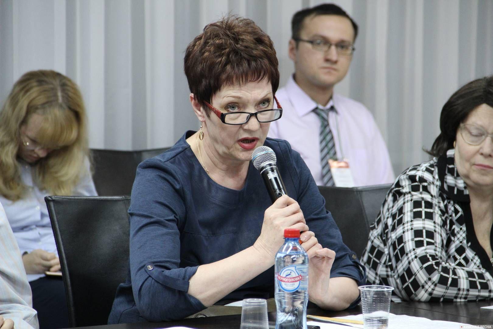 Житель города Мыски Ольга Селищева