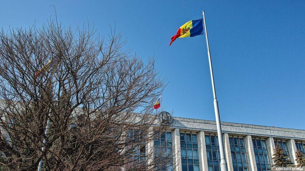 Молдавия. Дом Правительства