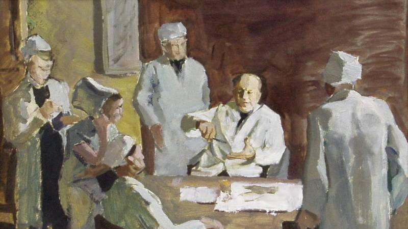 Мефодий Захаревич. Консилиум. 1950-е