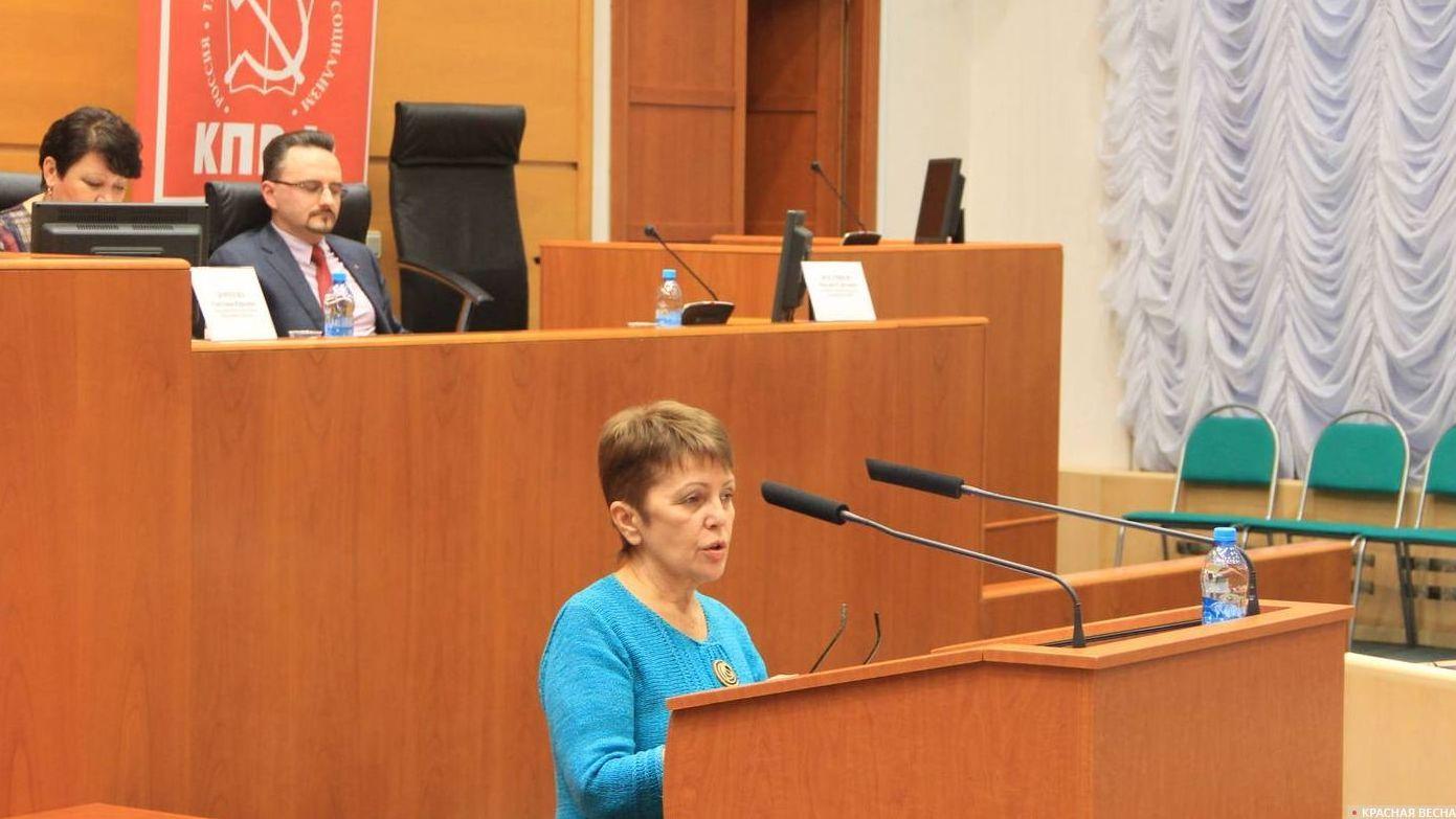 Выступление Марины Чапаевой