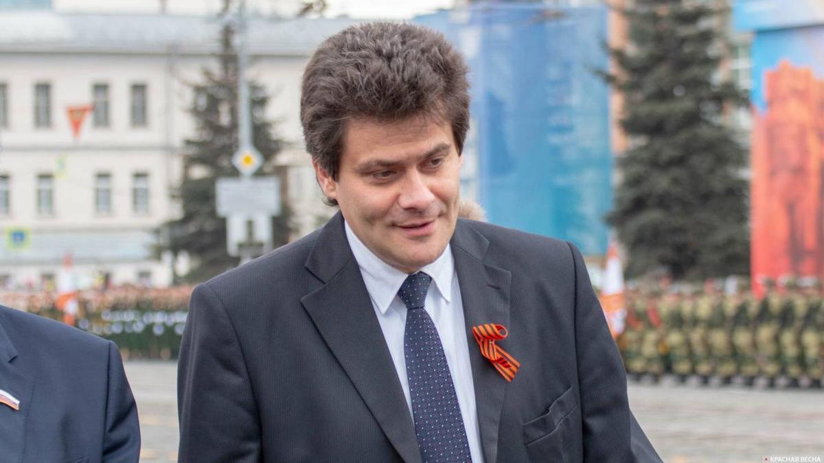 Бывший мэр Екатеринбурга Александр Высокинский