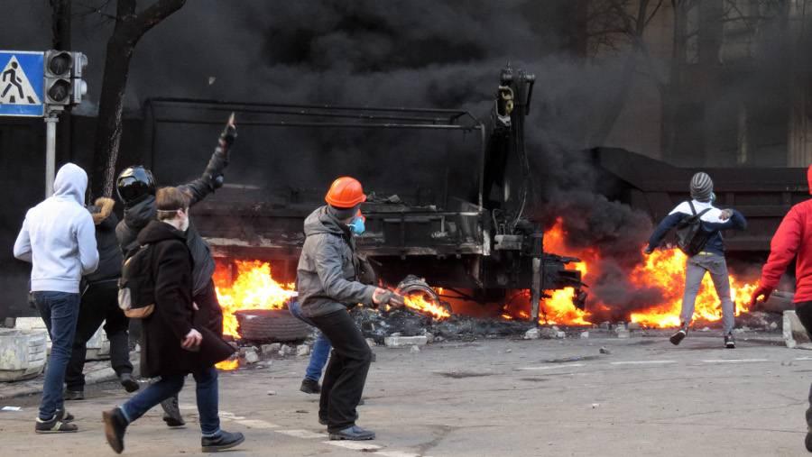 Евромайдан. 2014 год