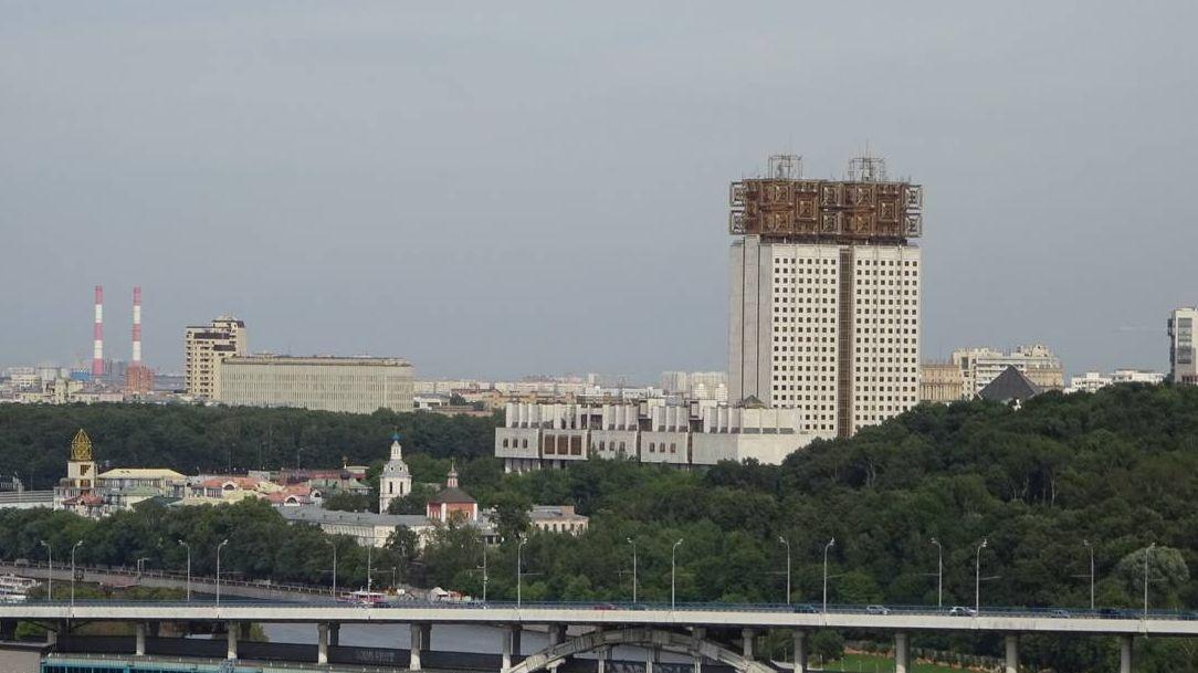 Здание РАН. Москва